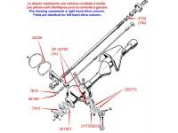 Restoration kit - steering column 1948-53