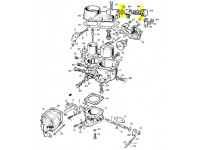 Set washer pipe union carb. solex 32PBI
