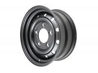 Wheel heavy duty Wolf - 16x6.5 - Black