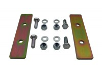 Coil spring retaining plates - rear - Def110/130
