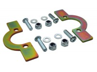 Coil spring retaining plates - front - Def110/130