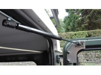 Cylinder for rear safari door