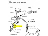 Joint métallique maître cylindre