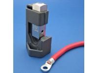 Battery terminal press tool