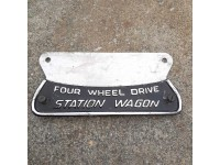 Station Wagon insign