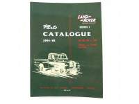 Parts Catalogue Series I 1954-1958