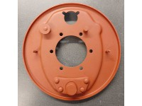 Brake anchor plate assembly LH 1948-64 - reconditioned