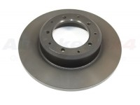 Brake disc rear non vented - Def110/130 1998on