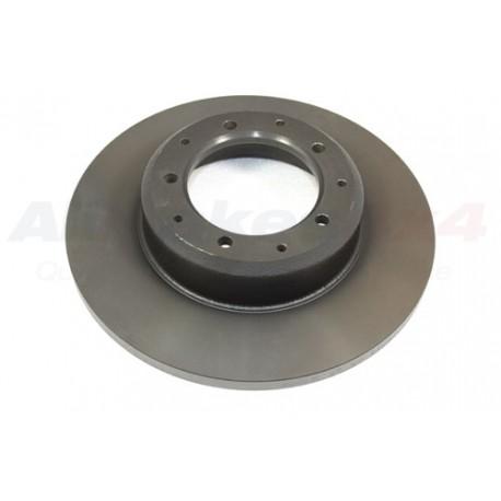 Brake disc rear non vented - Def110/130 1998on