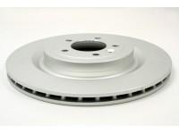 Rear disc brake vented & coated