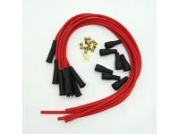 Kit fils de bougie Matière:Silicone 6 cyl. - rouge