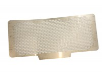 Radiator grille steel - stainless steel