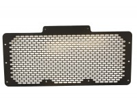 Radiator grille steel - black