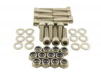 Hinge bolt kit - Rear safari door - Stainless steel