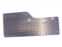 Inner door protector rear - Chequer plate - Aluminium - Disco1
