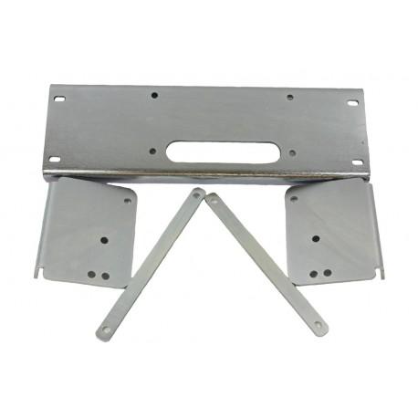 Winch Plate - under bumper - Disco1