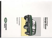 Parts Catalogue Range Rover Classic 1986-1992