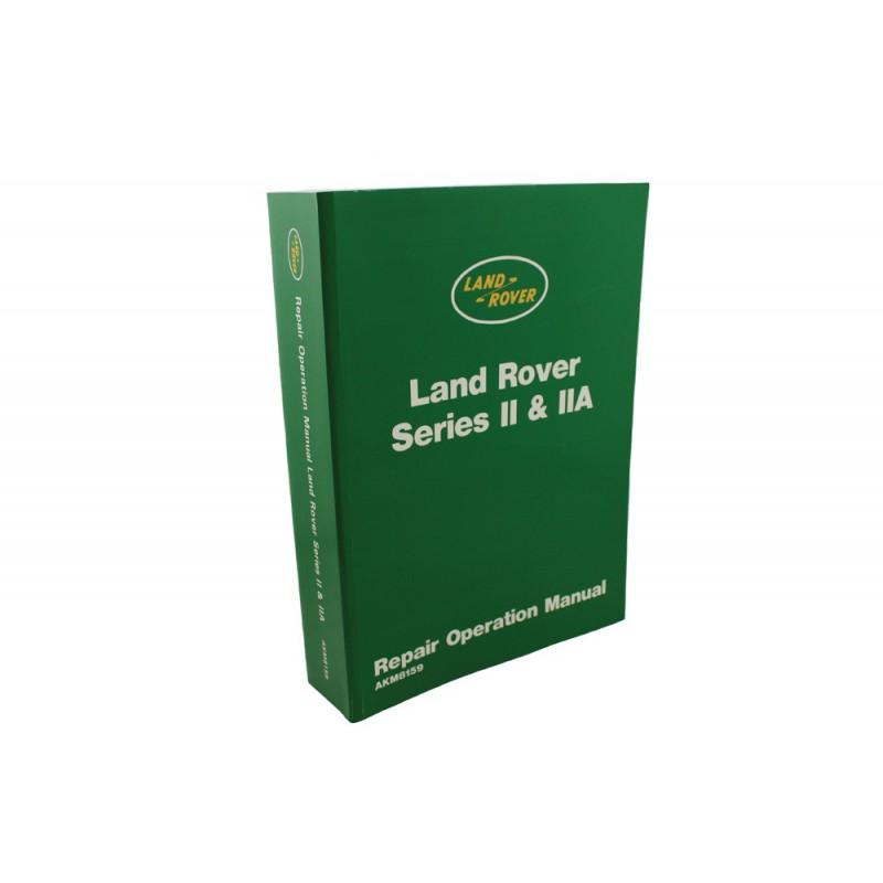 repair operation manual series 2/2a - series forever