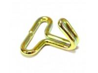 """80"""" Series 1 brass coated webbing hooks"""