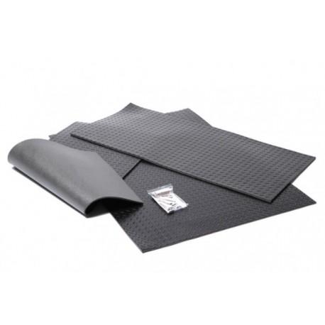 set 3 tapis de sol insonoris caoutchouc series forever. Black Bedroom Furniture Sets. Home Design Ideas