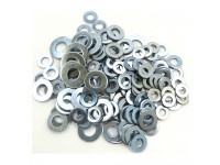 Mixed imperial plain washers 1/4 to 1/2
