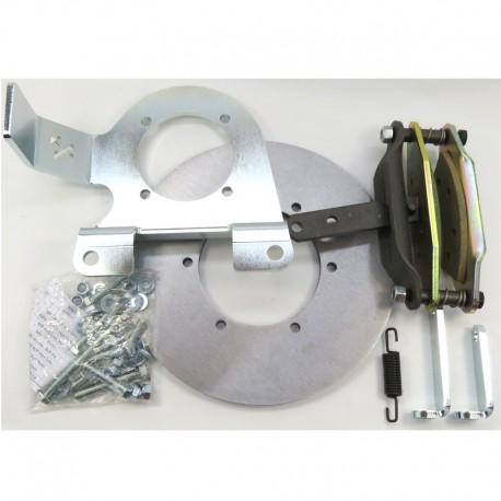 Conversion hand brake to hand brake disc