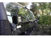 Led lamp windscreen brackets - pair