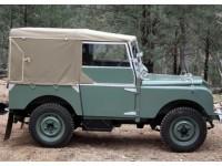 """80"""" full hood 1948-54 - flexible rear window"""
